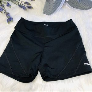 Fila running shorts polyester/spandex size:s